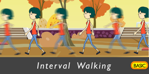 Interval Walking Banner
