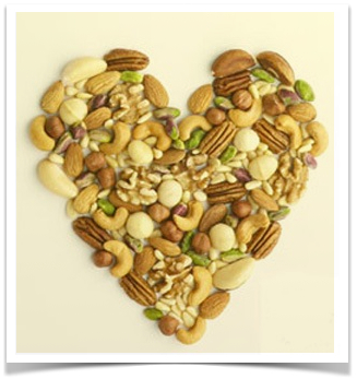 heart shaped nuts