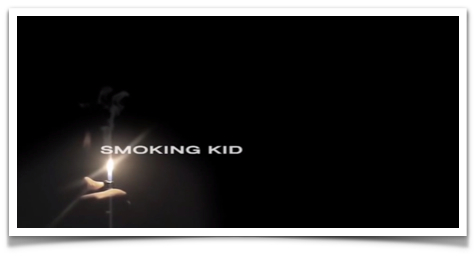 Smoking Kid ad