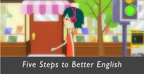 five steps to better English