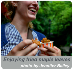 fried maple leaves 2