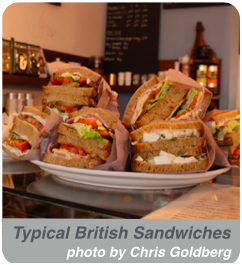 Typical British Sandwiches